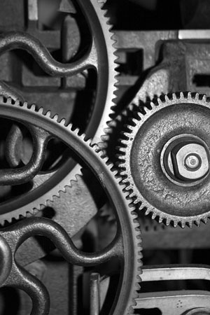 machinery cogs and gears