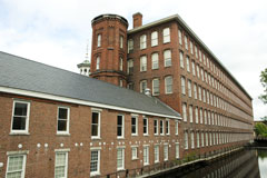 Massachusetts textile mill